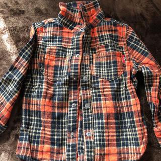 チェック ネルシャツ 100cm(ブラウス)
