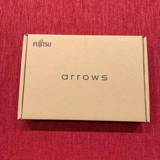 フジツウ(富士通)のarrows M04  ブラック   SIMフリー(スマートフォン本体)
