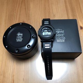 ステューシー(STUSSY)のCASIO G-SHOCK【STUSSY×ジェイソン】黒 腕時計(腕時計(デジタル))