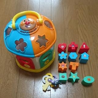 訳有り アンパンマン 知育 ブロック (知育玩具)