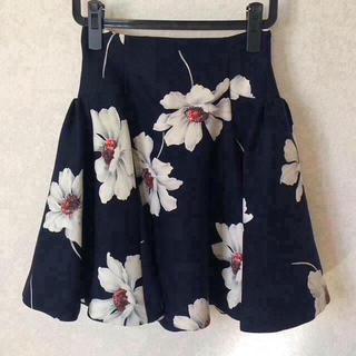 snidel - ♡美品♡ snidel マーガレット柄スカート