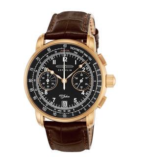 ツェッペリン(ZEPPELIN)のZEPPELIN 腕時計 100周年モデル ブラック文字盤 (腕時計(アナログ))