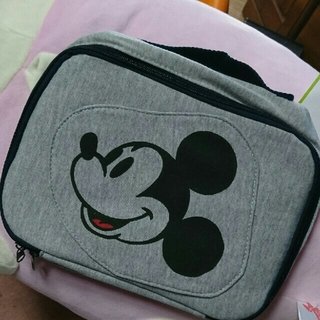ディズニー(Disney)のミッキー  マザーポーチ おむつポーチ(ベビーおむつバッグ)
