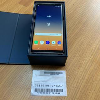サムスン(SAMSUNG)のgalaxy note8 ゴールド ドコモ simフリー 極美品(スマートフォン本体)