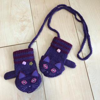 アナスイミニ(ANNA SUI mini)の美品☆アナスイミニ ANNA SUI mini 手袋 猫(手袋)