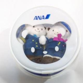 familiar - ファミリア ANA コラボ マスコットセット(ポーチ付き)