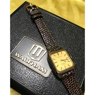 ウォルサム(Waltham)の★ WALTHAM ウォルサム 上品な レディース ウォッチ 美品 ★保管品(腕時計)