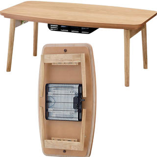 AZUMAYA こたつテーブル コタツ エルフィ オーク 値下げ可能