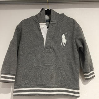 ラルフローレン(Ralph Lauren)のラルフローレン グレーパーカー ビックポニー(ジャケット/上着)