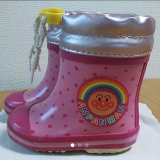 ムーンスター(MOONSTAR )のアンパンマン 長靴 スノーブーツ 女の子 13㎝(長靴/レインシューズ)