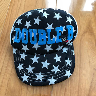 ダブルビー(DOUBLE.B)のミキハウス ダブルB星キャップM(帽子)