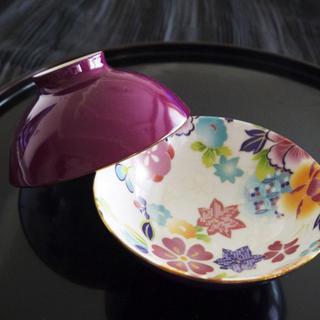 ポーセラーツ お茶碗 全面貼り 図式 計算式(食器)