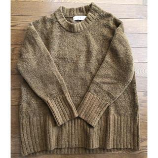 ZARA - リブトリム付セーター