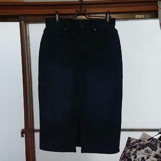 ジーユー(GU)のGU warmスカート 新品同様(ひざ丈スカート)