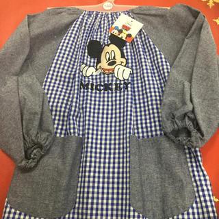 Disney - ミッキー 子供スモック