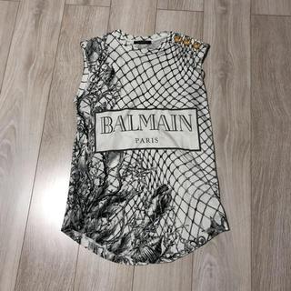 バルマン(BALMAIN)のバルマン タンクトップ(Tシャツ(半袖/袖なし))