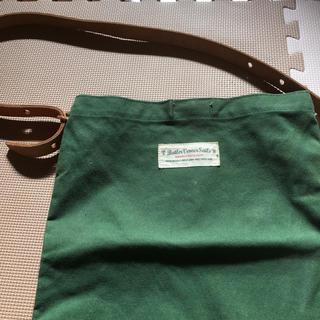ワンコイン 肩掛けかばん 緑 A4サイズ (トートバッグ)