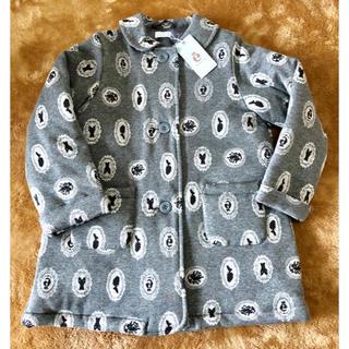 コンビミニ(Combi mini)の中古 ☆送料込 ☆ 女の子 コート120 コンビミニ グレー(ジャケット/上着)
