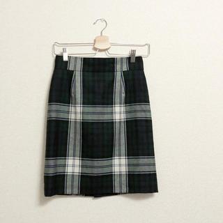 イエナ(IENA)のIENA タータンチェックタイトスカート (ひざ丈スカート)