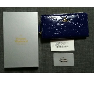 ヴィヴィアンウエストウッド(Vivienne Westwood)のヴィヴィアンウエストウッド 新品 長財布 ブルー レディース(財布)
