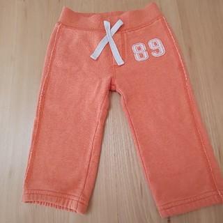 ベビーギャップ(babyGAP)のBabyGAP 80 パンツ オレンジ 綿100%(パンツ)