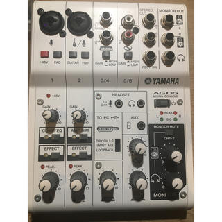 YAMAHA AG06 USBケーブル付き