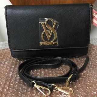 ヴィクトリアズシークレット(Victoria's Secret)の新品 ヴィクトリア  シークレット ショルダーバッグ ブラック 送料無料(ショルダーバッグ)