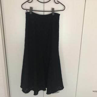 コムサデモード(COMME CA DU MODE)のKTのニットロングスカート(ロングスカート)
