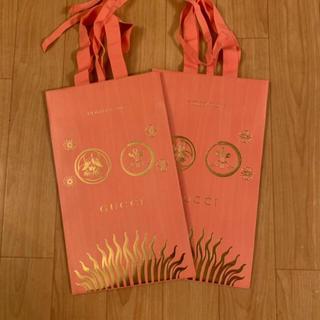 グッチ(Gucci)のGUCCI クリスマスショッパー(ショップ袋)