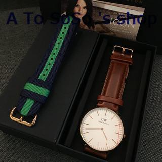 ダニエルウェリントン(Daniel Wellington)の年末のお値下DW 時計とベルト ST MAWESとCAMBRIDGE メンズ用(腕時計)