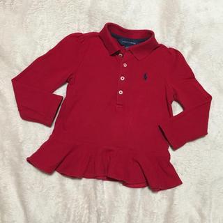 ラルフローレン(Ralph Lauren)のラルフローレン ポロ 長袖 ペプラム(Tシャツ/カットソー)