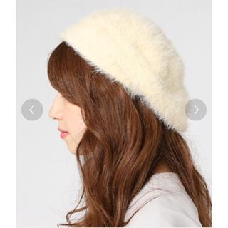 アースミュージックアンドエコロジー(earth music & ecology)のファーベレー帽(ハンチング/ベレー帽)