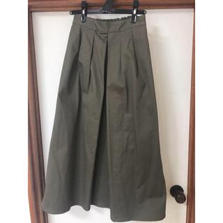 ジーユー(GU)のGU フレアロングスカート(ロングスカート)