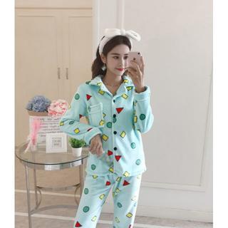 もこもこ パジャマ フリーサイズ クリスマス(ルームウェア)