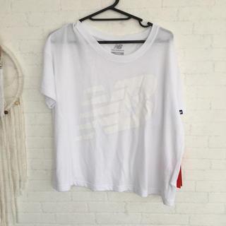 ニューバランス(New Balance)のニューバランス 白T(Tシャツ(半袖/袖なし))