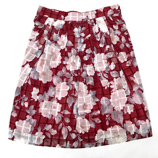 ロディスポット(LODISPOTTO)のロディスポット 花柄スカート(ひざ丈スカート)
