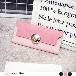 長財布 レディース かわいい 見やすい カード 収納 おしゃれ 薄型 シンプル(財布)
