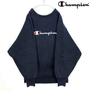 Champion - Champion トレーナー XL ネイビー