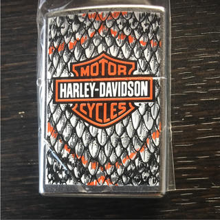 ハーレーダビッドソン(Harley Davidson)のハーレーダビッドソン ZIPPO 希少 未使用(タバコグッズ)
