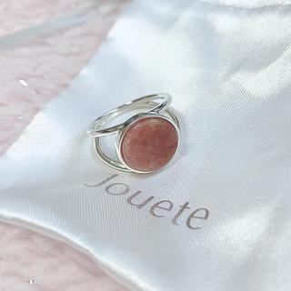 ジュエティ(jouetie)のjouete  天然石リング(リング(指輪))