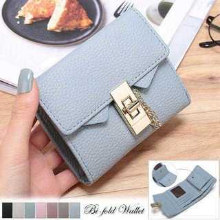 二つ折り 財布 レディース レザー コンパクト 小銭 小型 ウォレット 女性(財布)