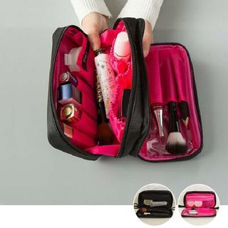 コスメポーチ レディース 化粧ポーチ 機能的な 大容量ケース メイクポーチ(ポーチ)