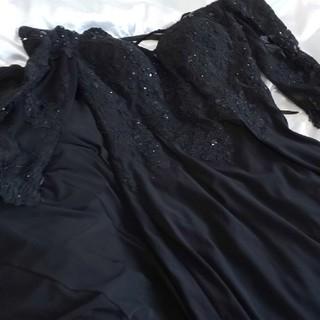 ジャンマークレーンドレス黒。