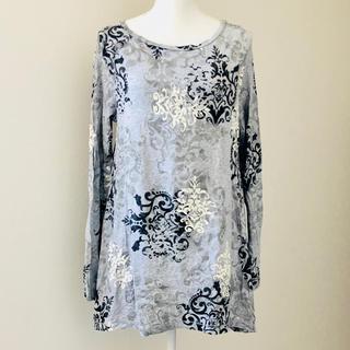 カルバンクライン(Calvin Klein)のカルバンクライン ロングTシャツ(Tシャツ/カットソー(七分/長袖))