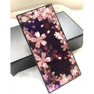 iPhone 7/8plus 桜 さくら スクエア iPhoneケース