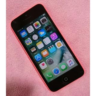 エヌティティドコモ(NTTdocomo)のiPhone5c 16GB docomo 液晶パネル新品交換済み❗(スマートフォン本体)