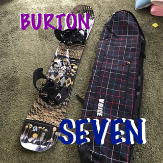 BURTON - 早い者勝ち⭐️スノーボード バートン セブン 151  希少 大人気モデル