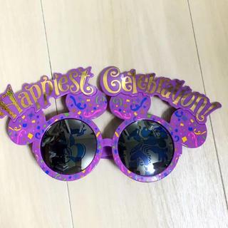 ディズニー(Disney)のディズニーランド 35周年 サングラス グッズ お土産 ミッキー ディズニー(サングラス/メガネ)