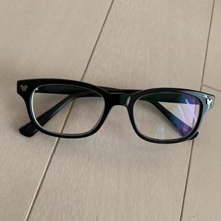 ディズニー(Disney)の度入りレンズ交換可能ミッキーマーク入り眼鏡(サングラス/メガネ)