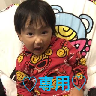 ヒステリックミニ(HYSTERIC MINI)のヒスミニローリングシャツ90センチ♡(ブラウス)